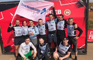 The team of ServisMontazhIntegratsiya LLC took part in the HeroRace-2020