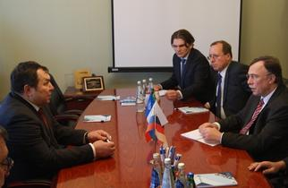 The visit of the leadership of Siemens in the Republic of Tatarstan