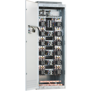 Installation of reactive power compensation in low voltage